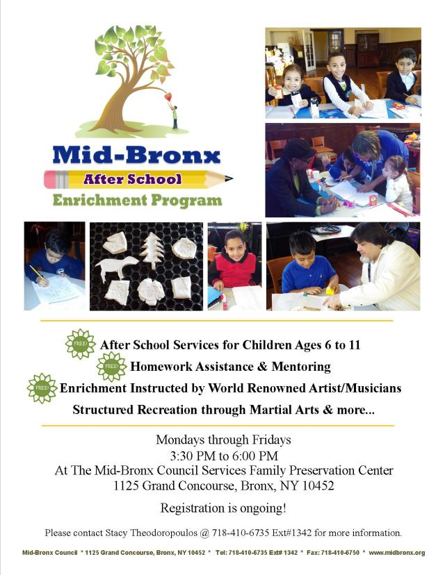Afterschool Flyer II